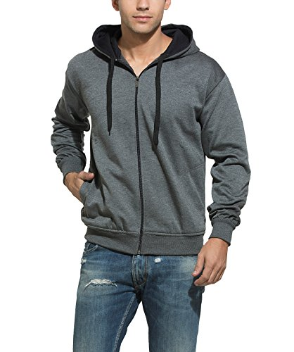 Alan Jones Clothing Men's Cotton Hooded Sweatshirt