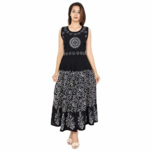 Black Maxi Dress for Women