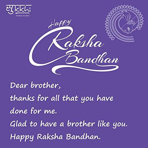 Sukkhi Rakhi Cluster Rakhi Combo
