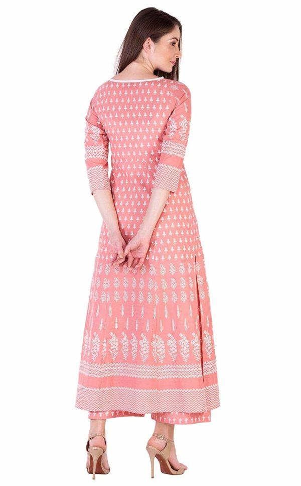 Women's Cotton Straight Kurti