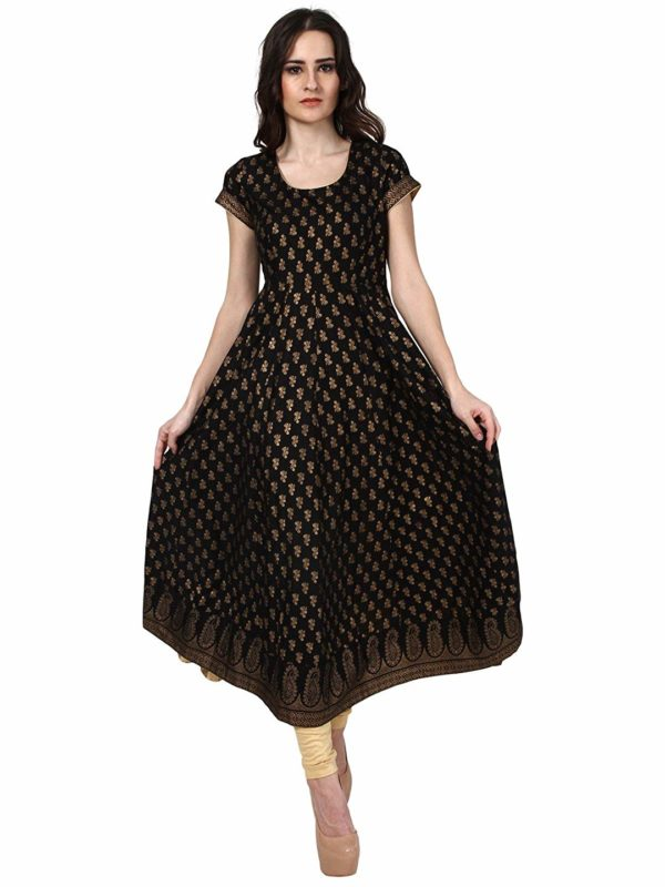 Poshak Women's Gold Print